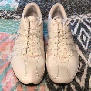 Nike White Sneakers - Size 7.5